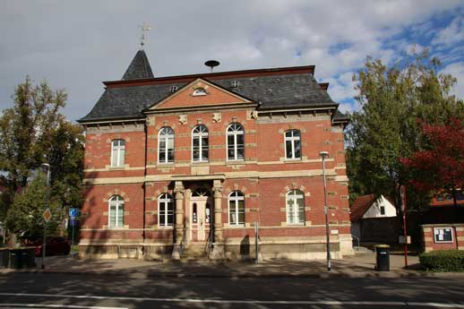 Abbildung des Bürgerhauses in Vieselbach